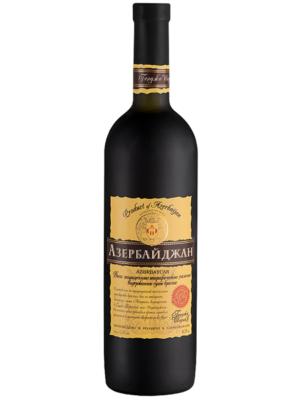 Вино Азербайджан в матовой бутылке