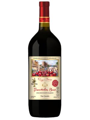 Гранатовое вино Старый Баку 1,5 л.